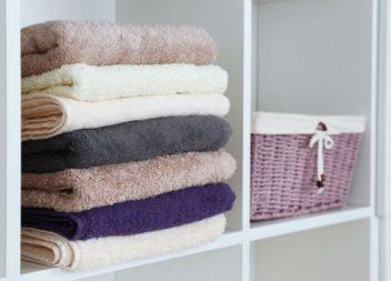 21 idee su organizzare asciugamani