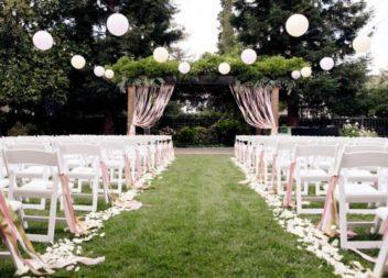 Matrimonio nel giardino: 20 idee su decorazione