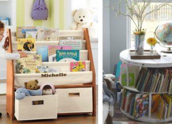 21 foto-idee su organizzazione dei libri per bambini