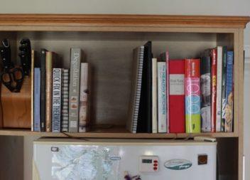 16 idee su organizzazione libri in cucina