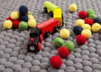 Idee su tappeto in camera dei bambini: idee ed esempi per interni