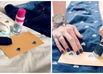 20 foto-idee su decorazione dei vecchi jeans