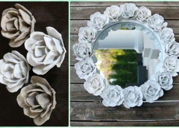 20+idee su decorazione dello specchio.10 master-class
