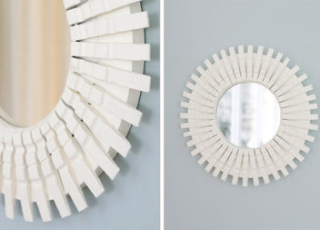 16 idee su decorazione specchio