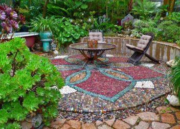 Decorazione con il mosaico: 21 idee