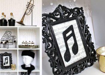 25 idee su decorazione a tema musicale