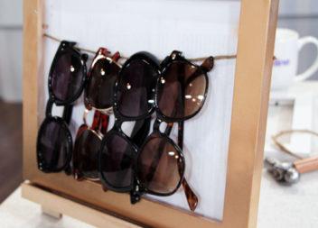 17 idee su organizzazione occhiali da sole