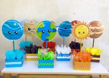 Idee su festa di compleanno in stile ''spazio''. Decorazioni e  dettagli