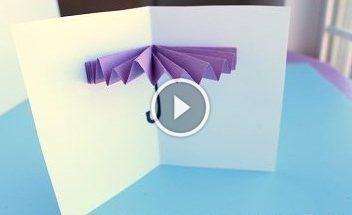 Cartolina-ombrello per bambini: video-lezione