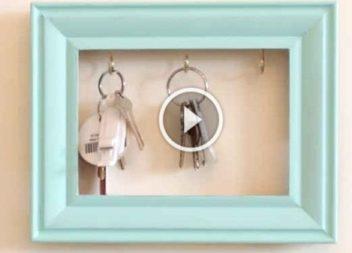 Cornice-portachiavi: video-lezione