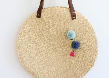 Bella borsa da spiaggia fatta a mano: master-class