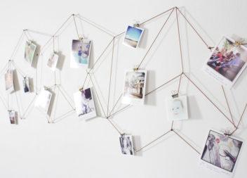 20 modi su decorazioni con le foto di famiglia