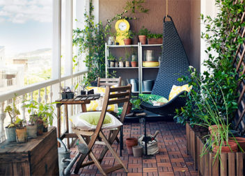 25 idee sorprendenti su decorazione del balcone