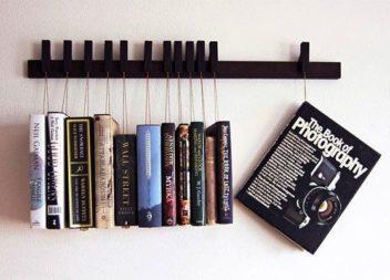 21 idee su creazione della mensola per libri