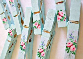 Idee su come colorare e decorare le mollette per bucato: 11 idee straordinarie