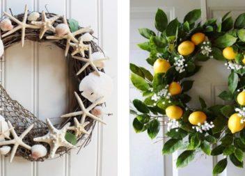21 foto idee su corone estive di fiori