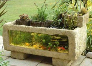 14 foto-idee su acquario nel giardino
