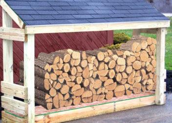 17 idee su organizzazione di legna in campagna