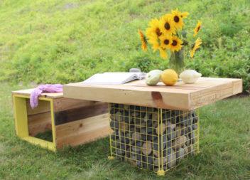 10 idee su progettazione del vostro giardino con gabbioni