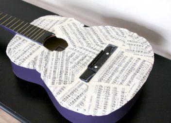 16 idee su uso della vecchia chitarra