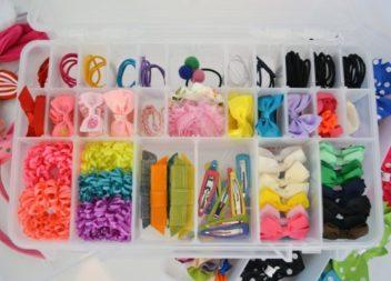 21 idee su organizzazione degli accessori per capelli