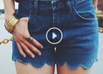Cosa si può fare con i vecchi jeans : 8 idee creative