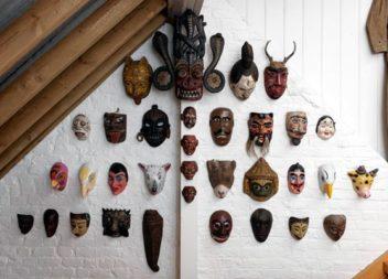 Maschere africane: 21 idee per decorare le pareti