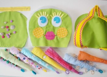 Idee su come cucire uno zaino a polipo carino per bambini: master-class