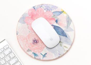 Tappetino per il mouse del computer fatto a mano, master-class