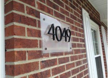 23 idee originali su decorazione del numero civico di casa
