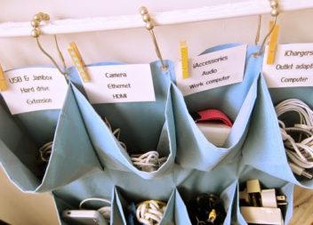 22 idee su organizer da parete con le tasche