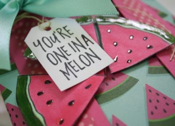 "Master-class: pacco regalo""YOU'RE ONE IN A MELON"""