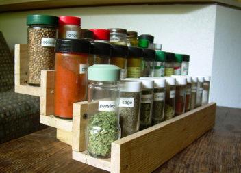 15 modi interessanti su organizzazione spezie in cucina