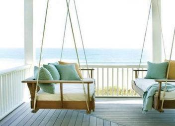23 idee creative sul dondolo sul vostro portico
