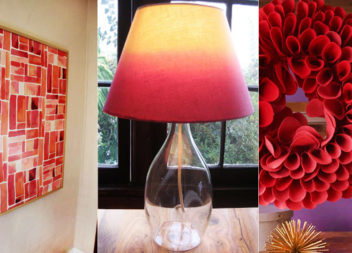 15 idee su decorazione con colore rosso