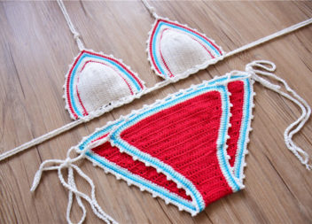 21 idee su costumi da bagno a maglia