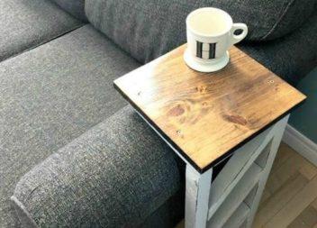 Creazione di piani d'appoggio per divani: master-class