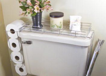25 idee su stoccaggio della carta igienica nel bagno