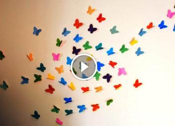 Farfalle di carta: video-lezione