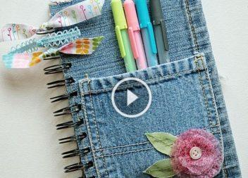 Copertura di jeans per notebook
