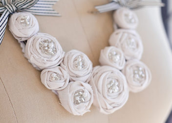 Handmade floreale.Facciamo una collana