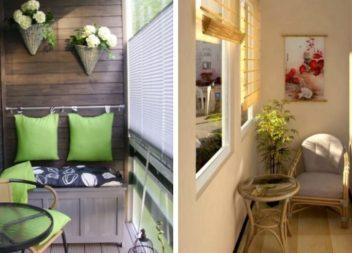 20 idee per arredare il balcone