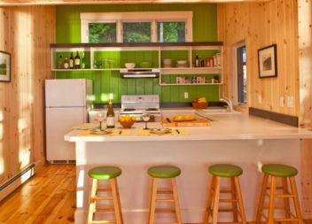 Cucine luminose. Foto-idee!