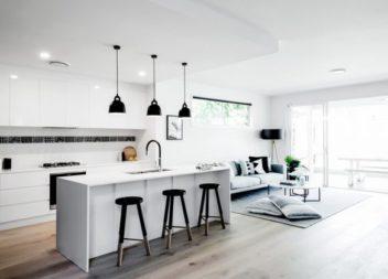 Idee su progettazione del design da cucina in stile scandinavo