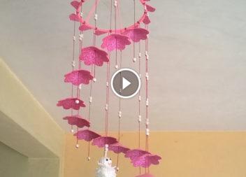 Decorazione della lampada. Video