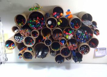 Idee creative su organizer per le matite