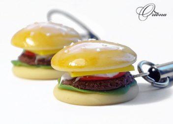 Hamburger con pasta sintetica, master-class