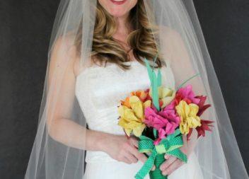 Foto lezione: facciamo il velo classico da soli per la sposa!