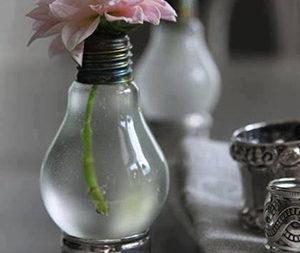 Idee su lampadina-vaso