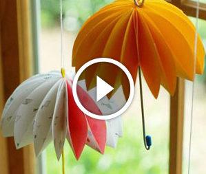 Ombrelloni decorativi. Video-lezione